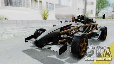 Ariel Atom 500 V8 para GTA San Andreas