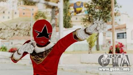 Power Ranger Zeo - Red para GTA San Andreas