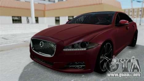 Jaguar XJ 2010 para GTA San Andreas