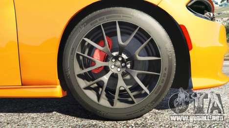 GTA 5 Dodge Charger SRT Hellcat 2015 v1.2 volante