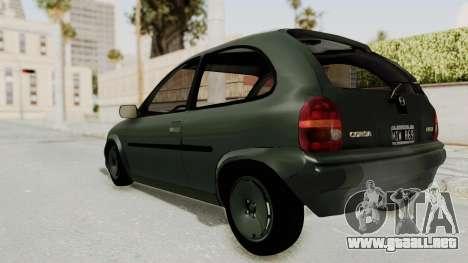 Chevrolet Corsa para GTA San Andreas left