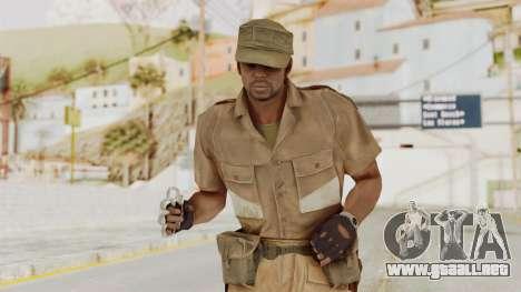 MGSV Phantom Pain CFA Soldier v1 para GTA San Andreas