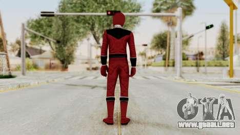 Power Rangers Time Force - Quantium para GTA San Andreas tercera pantalla