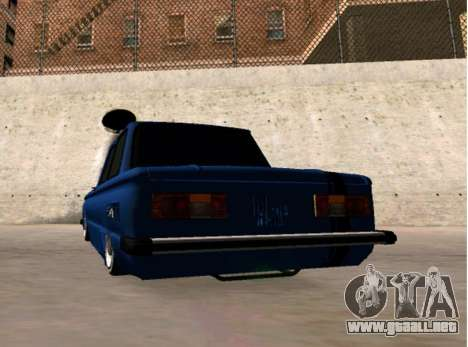 ZAZ BPAN para GTA San Andreas vista posterior izquierda