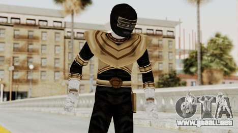 Power Ranger Zeo - Gold para GTA San Andreas