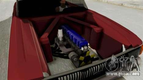 Ford Falcon Sprint para GTA San Andreas vista hacia atrás