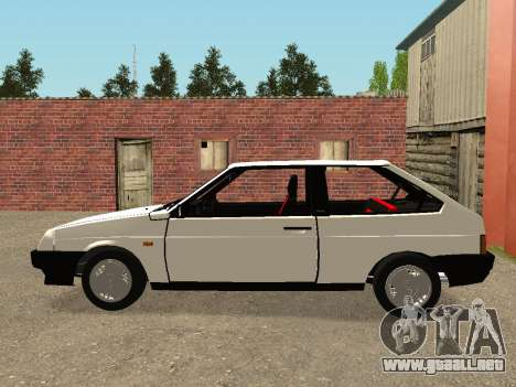 VAZ 2108 Stock by Greedy para GTA San Andreas left