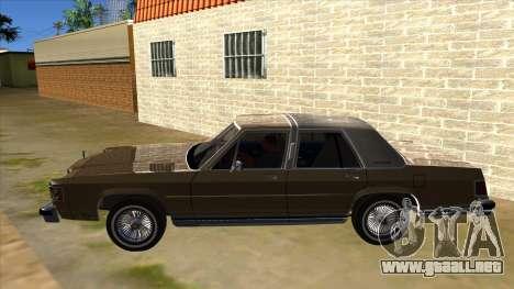 Mercury Grand Marquis 1986 v1.0 para GTA San Andreas left