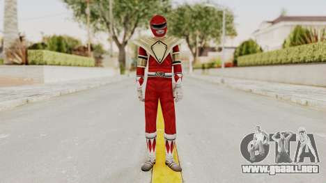Mighty Morphin Power Rangers - Red Armor para GTA San Andreas segunda pantalla
