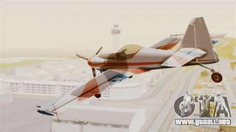 Zlin Z-50 LS v4 para la visión correcta GTA San Andreas