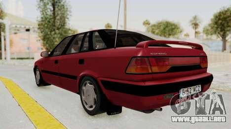 Daewoo Espero 1.5 GLX 1996 v2 Final para GTA San Andreas left