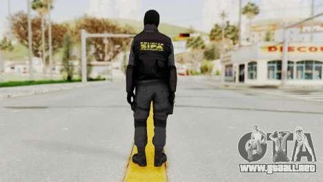 SIPE para GTA San Andreas tercera pantalla