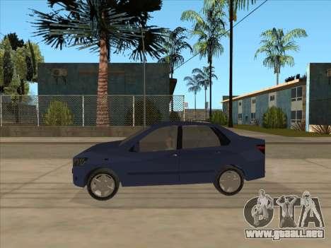 Datsun on-DO para GTA San Andreas vista posterior izquierda