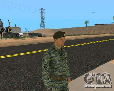Pak Militar Ruso para GTA San Andreas décimo de pantalla