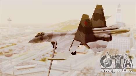 SU-27 Hydra para GTA San Andreas left