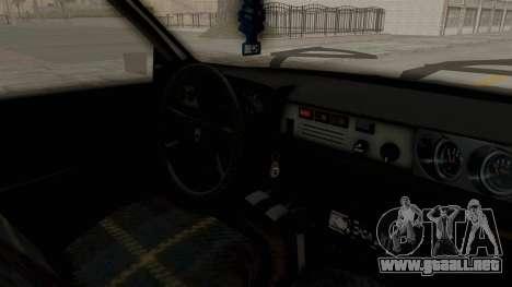 Dacia 1310 TX para visión interna GTA San Andreas
