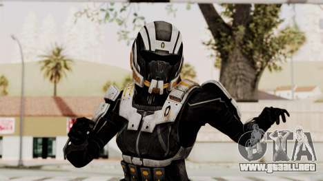 Mass Effect 3 Ajax Female Armor para GTA San Andreas