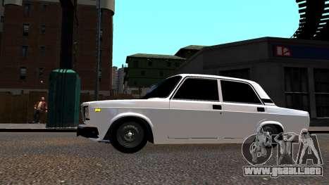 VAZ 2107 BPAN para GTA 4 left