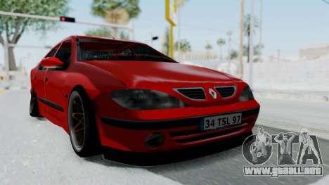 Renault Megane para la visión correcta GTA San Andreas