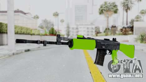 IOFB INSAS Light Green para GTA San Andreas