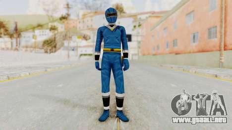 Alien Rangers - Blue para GTA San Andreas segunda pantalla