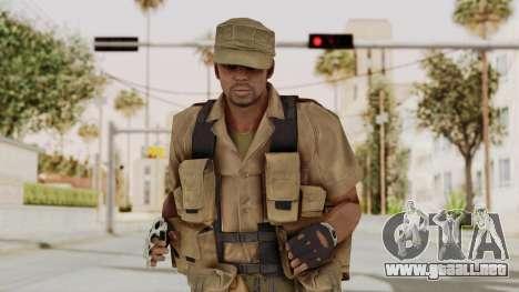MGSV Phantom Pain CFA Combat Vest 2 v1 para GTA San Andreas