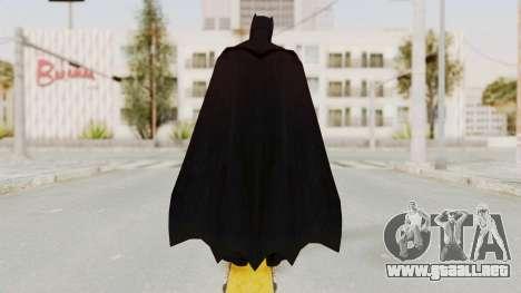 Batman vs. Superman - Batman para GTA San Andreas tercera pantalla