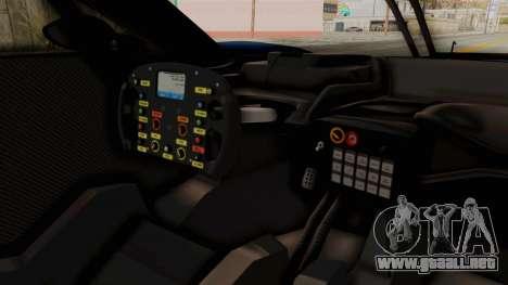 Ford GT 2016 LM para visión interna GTA San Andreas