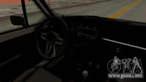 Volkswagen Golf 1 para visión interna GTA San Andreas
