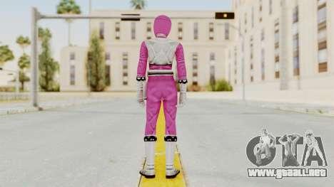 Power Rangers Lost Galaxy - Pink para GTA San Andreas tercera pantalla