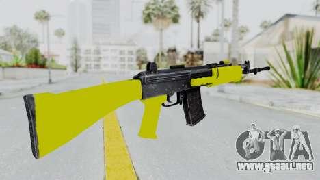 IOFB INSAS Yellow para GTA San Andreas segunda pantalla