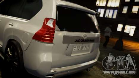 Toyota Land Crusier Prado 150 para GTA 4 left