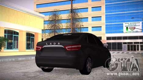 Lada Vesta Stoke para GTA San Andreas left