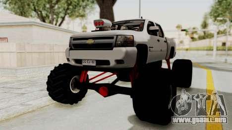 Chevrolet Silverado 2011 Monster Truck para GTA San Andreas