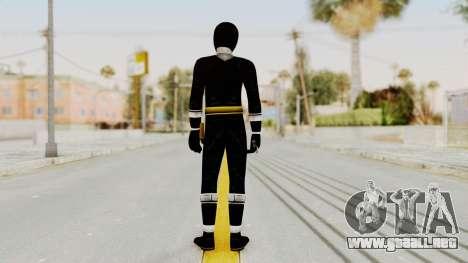 Alien Rangers - Black para GTA San Andreas tercera pantalla