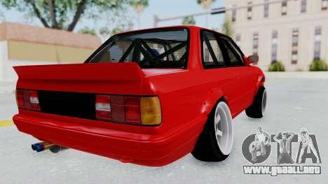 BMW M3 E30 Rocket Bunny Drift Style para la visión correcta GTA San Andreas