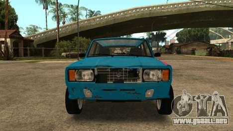 VAZ 2104 para GTA San Andreas left
