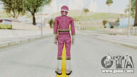 Power Rangers Lightspeed Rescue - Pink para GTA San Andreas tercera pantalla
