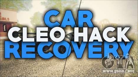 CarRecovery para GTA San Andreas