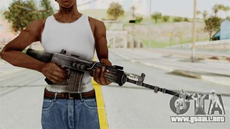 IOFB INSAS Detailed Black Skin para GTA San Andreas tercera pantalla