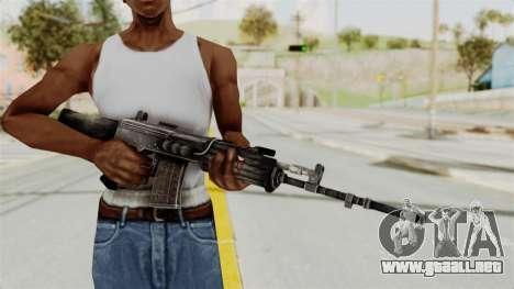IOFB INSAS Detailed Black Skin para GTA San Andreas tercera pantalla