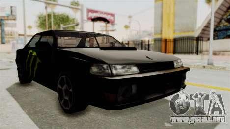 Monster Sultan para la visión correcta GTA San Andreas