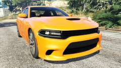 Dodge Charger SRT Hellcat 2015 v1.2 para GTA 5