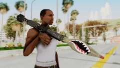GTA 5 Rocket Launcher Shark mouth