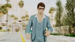 Scarface Tony Montana Suit v3 with Glasses para GTA San Andreas