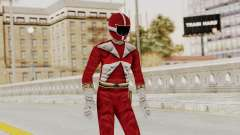 Power Rangers Lightspeed Rescue - Red para GTA San Andreas