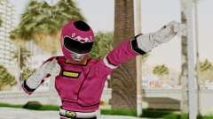 Power Rangers Turbo - Pink para GTA San Andreas