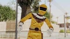Power Ranger Zeo - Yellow para GTA San Andreas