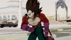 Dragon Ball Xenoverse Vegeta SSj4 para GTA San Andreas