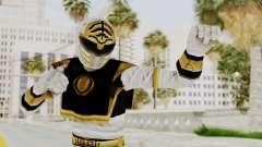 Mighty Morphin Power Rangers - White para GTA San Andreas